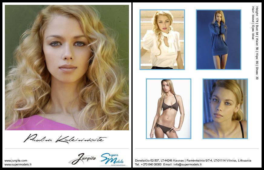 Paulina Kaleininkaitė composite card
