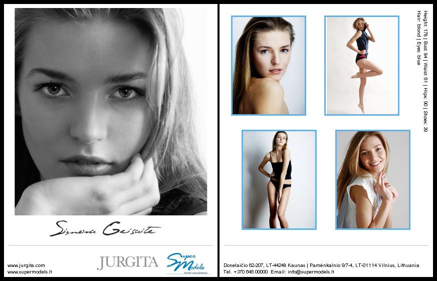 Simona Geišaitė composite card