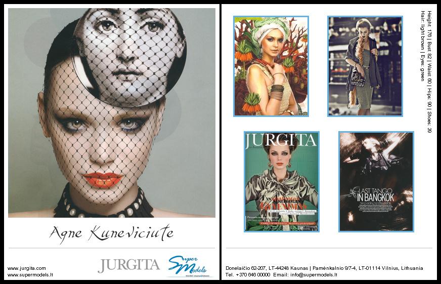 Agnė Kunevičiūtė composite card