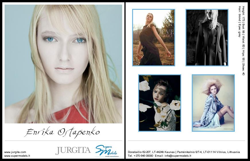 Enrika Ostapenko composite card
