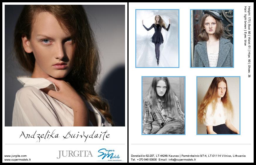 Andželika Buivydaitė composite card