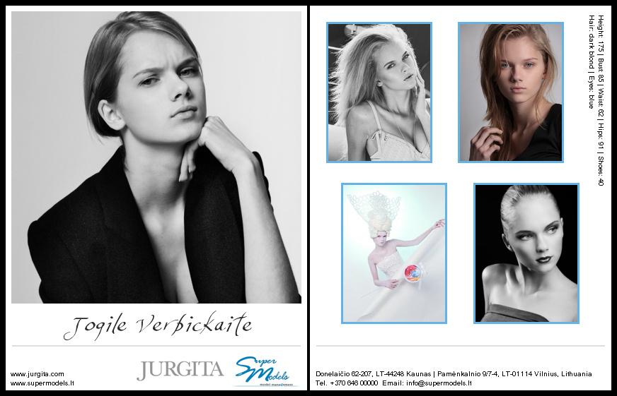 Jogilė Verbickaitė composite card