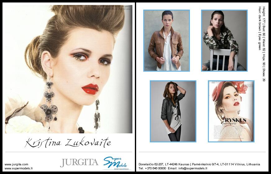 Kristina Žukovaitė composite card