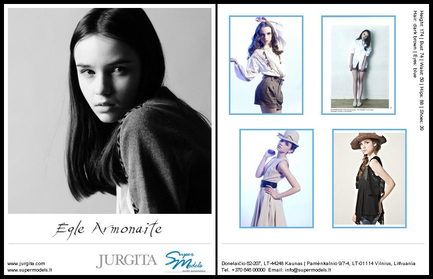 Eglė Armonaitė composite card