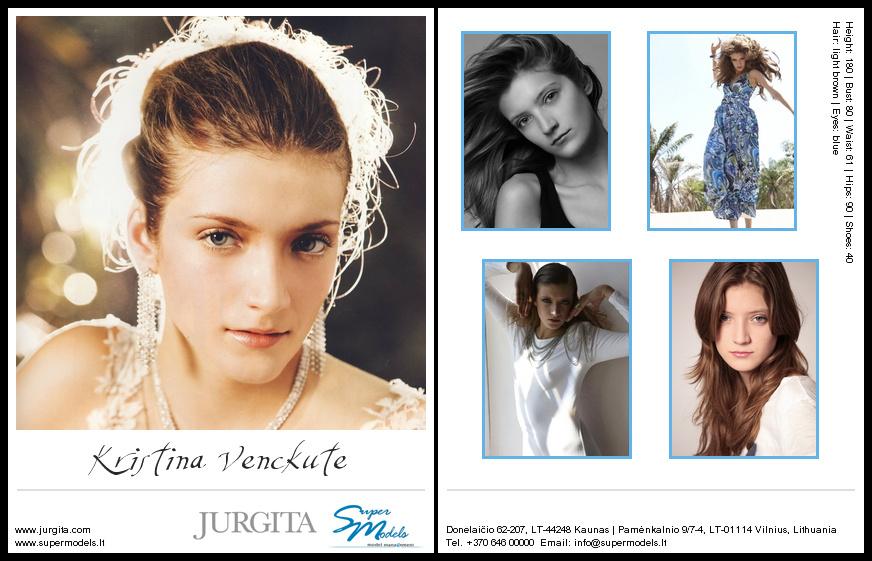 Kristina Venckutė composite card
