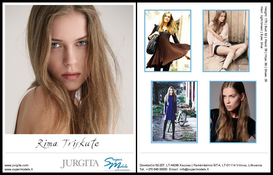 Rima Triškutė composite card