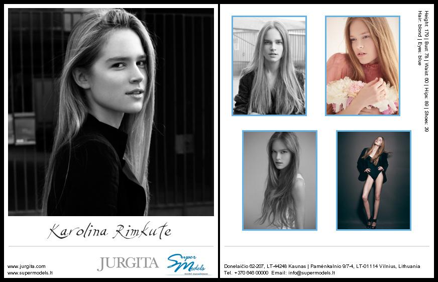 Karolina Rimkutė composite card