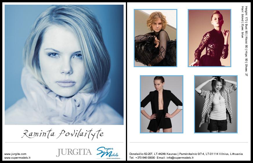 Raminta Povilaitytė composite card