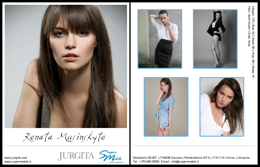 Renata Musinskyte composite card