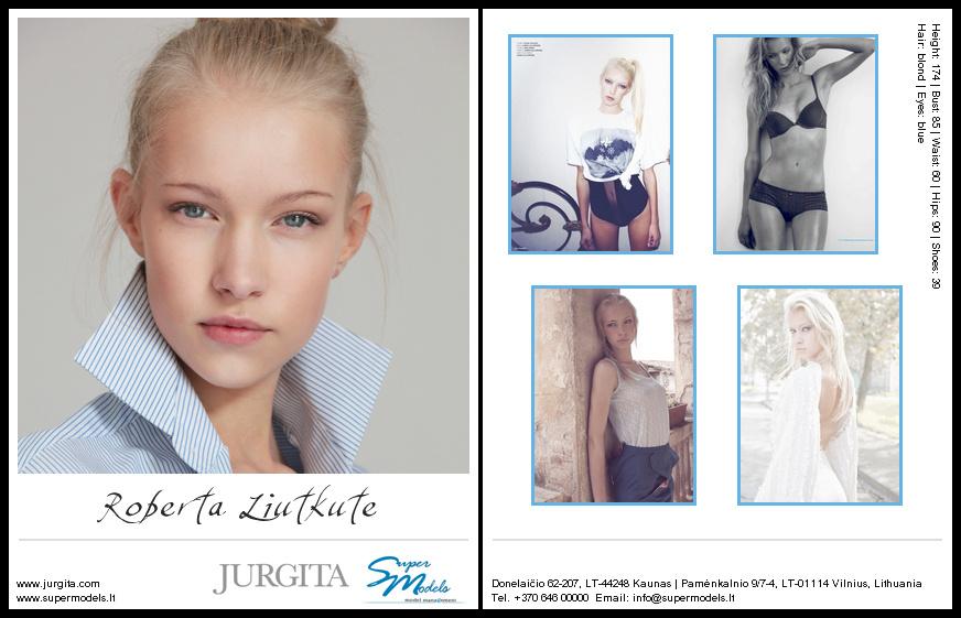 Roberta Liutkute composite card