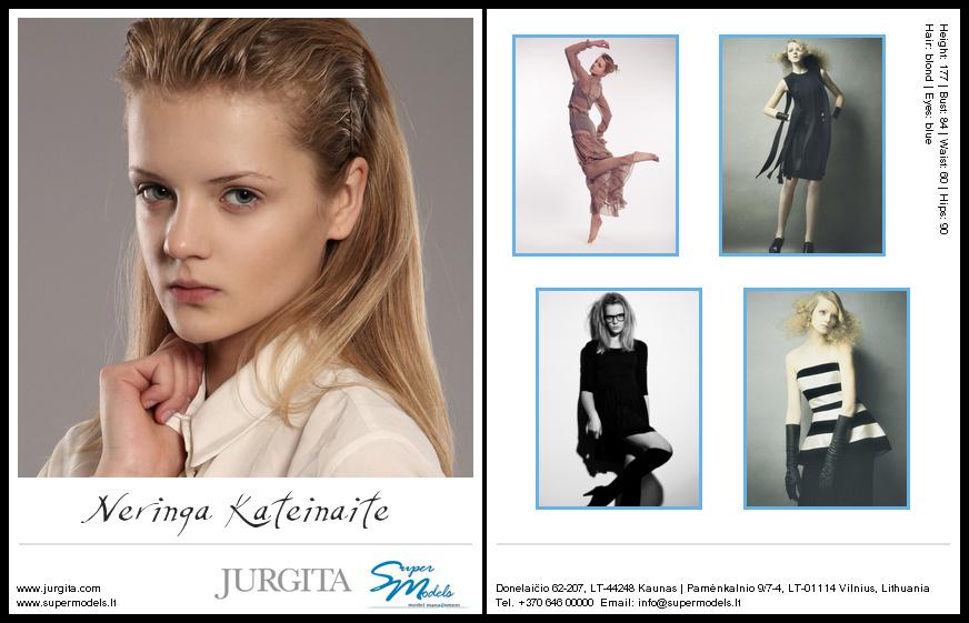 Neringa Kateinaite composite card