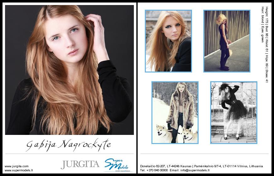 Gabija Nagrockytė composite card