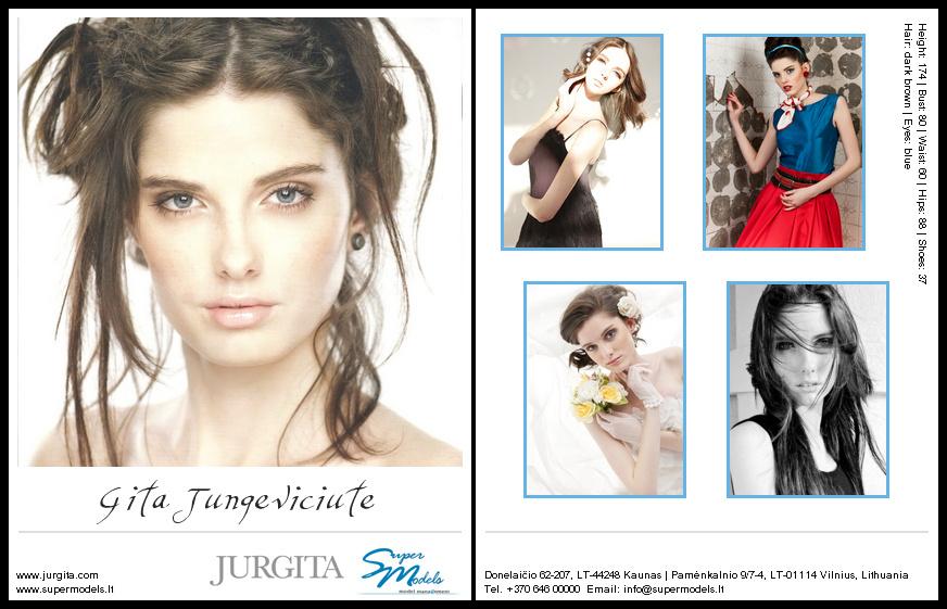 Gita Jungevičiūtė composite card