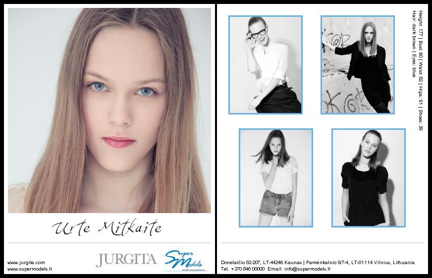 Urte Mitkaite composite card